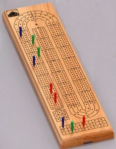 Cribbage at the Library